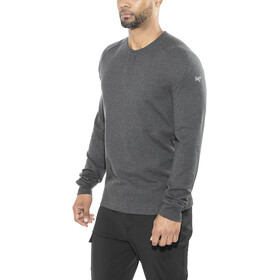 Arc'teryx Sirrus Longsleeve Henley Heren, black heather